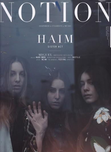 Haim, Notion Magazine, Mathias Sterner, Nars