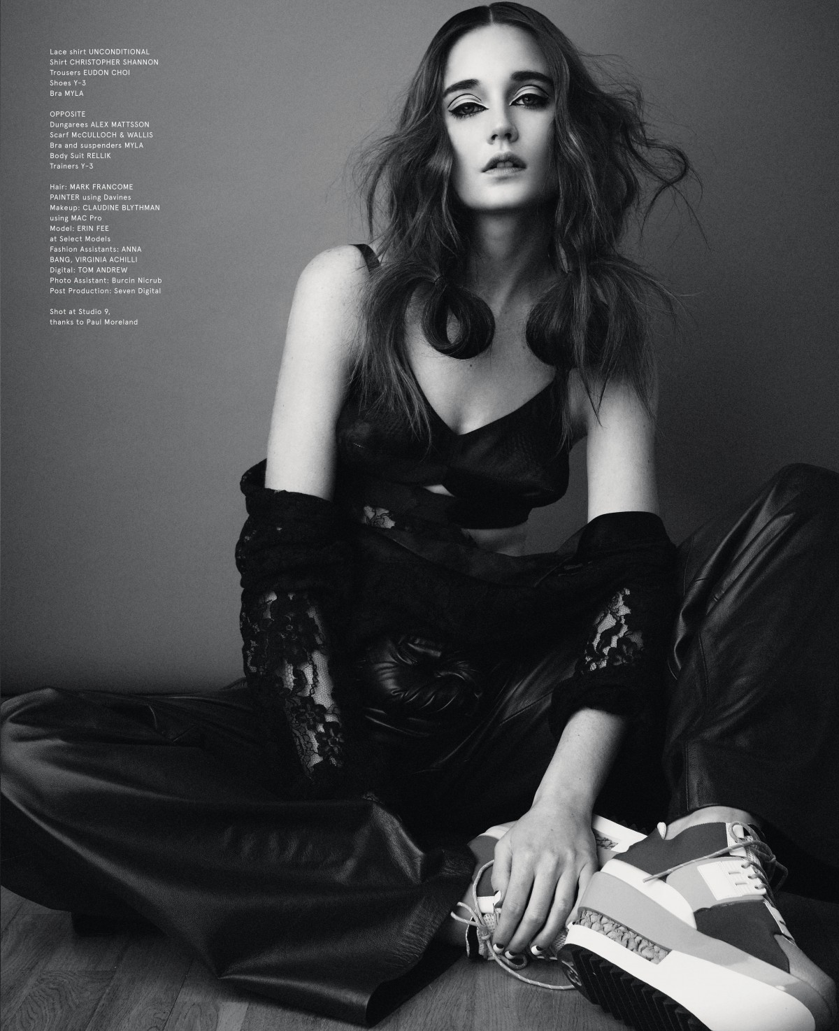 Erin Fee, Volt Magazine by Ross Shields