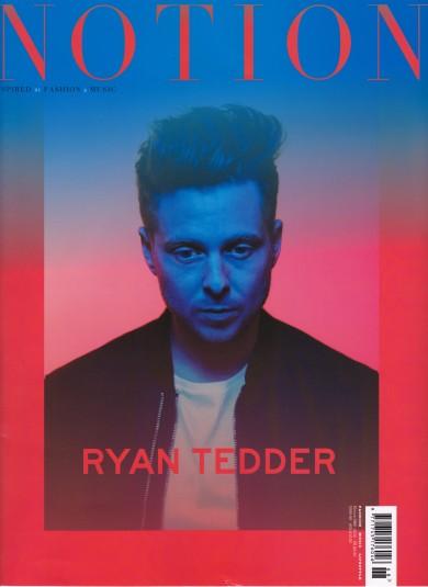 Notion Magazine, Ryan Tedder, One Republic, Nars Cosmetics