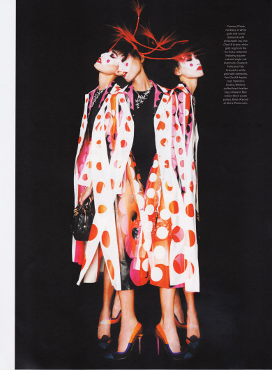 Jewelry Fashion Watches Magazine, Gigi Jeon, Polka Dots, Dots Makeup, Valentino, Philip Treacy, Mac Pro