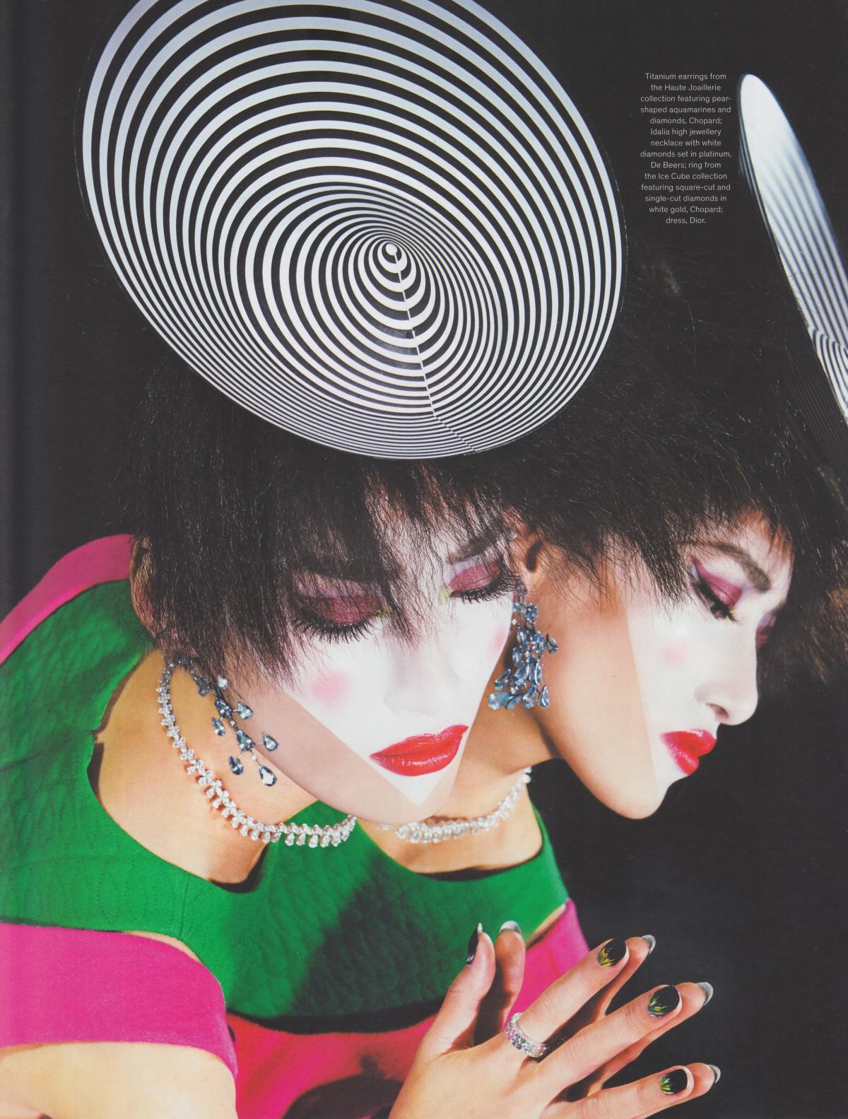 JFW Magazine, Diana Gomez, Gigi Jeon, Mac Cosmetics, The Magic Issue, Diamonds, Jewels