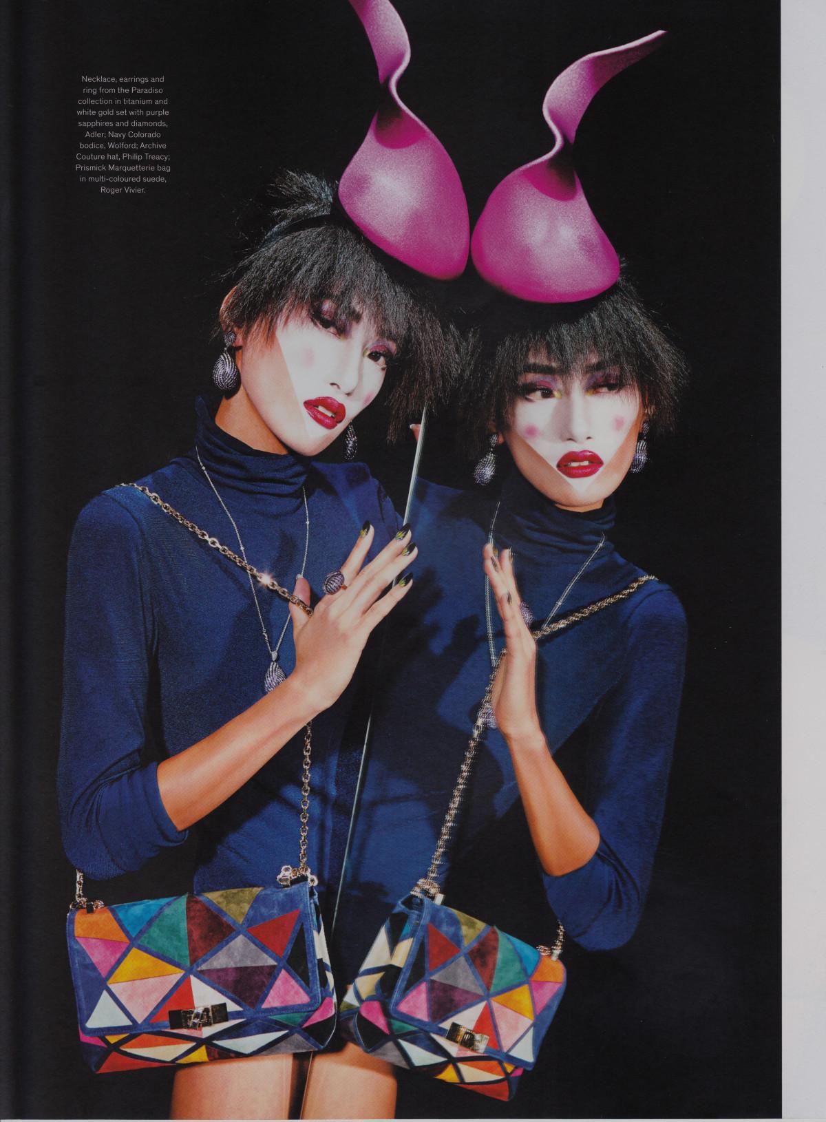 Jewelry Fashion Watches Magazine, Gigi Jeon, Polka Dots, Dots Makeup, Philip Treacy, Mac Pro Cosmetics