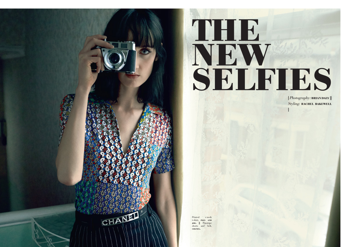 Please Magazine, The New Selfies, Christina Carey, Brian Daley, Jacki Castelli, Mac Cosmetics