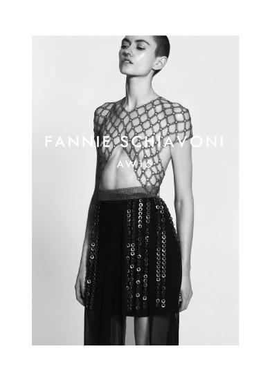 AW15 Fannie Schiavoni by Mark Rabadan, Emily Parsons, Claudine Blythman Makeup Artist