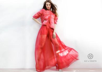 LillyeVioletta, Alex Bramall, Romy De Grijff, Elite Models, Fur