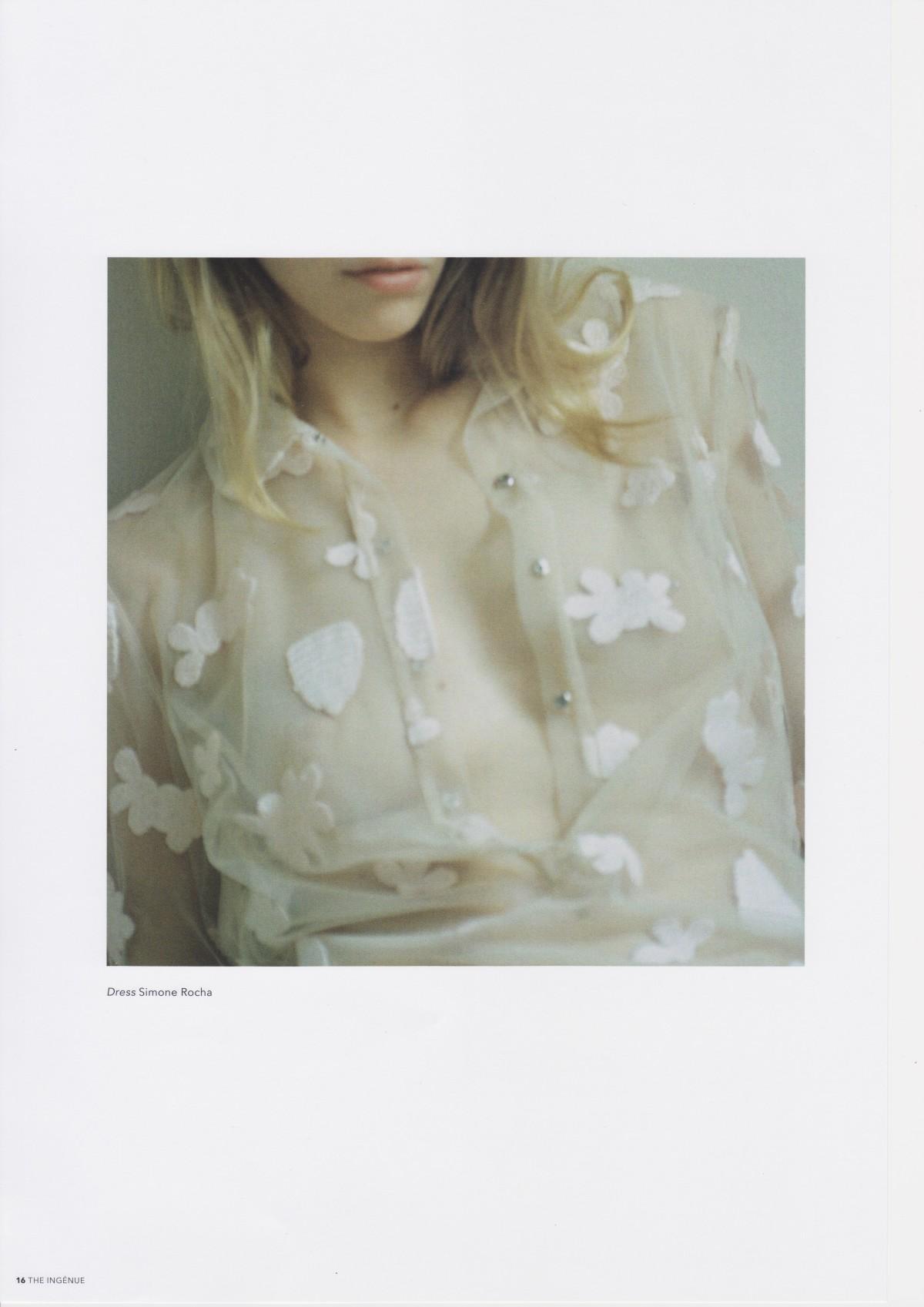 Ingenue Magazine, Susannah Baker-Smith, Kristina Golightly, Roxane Glineur, Burberry Beauty
