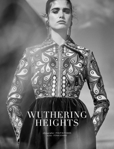 Streets Magazine by Philip Blythman, wuthering heights, Kiki Boreel, Velvet story, Eyebrows,
