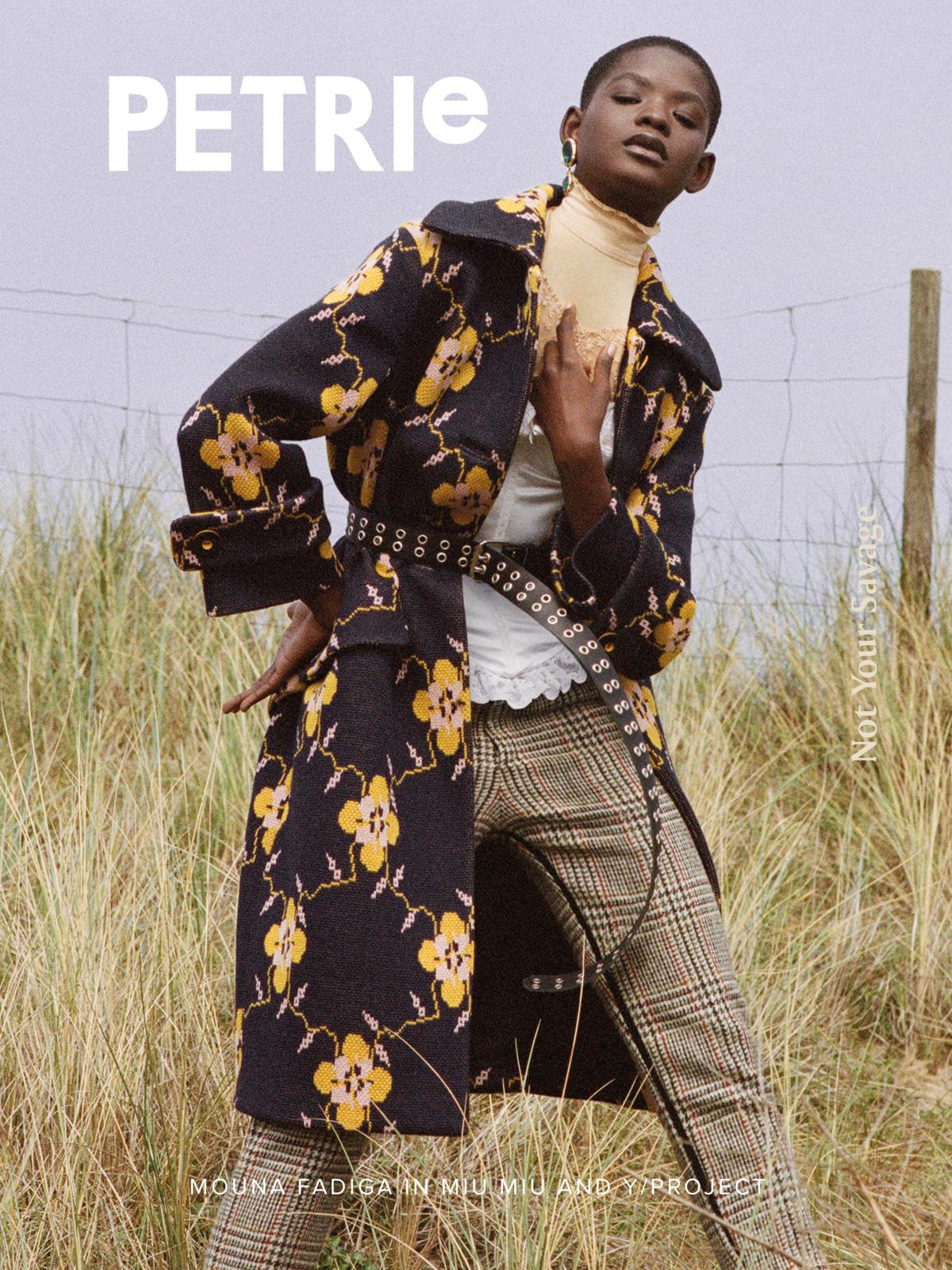 PETRIe 68 by Marie Schuller, Mouna Fadiga, Cover story, Claudine Blythman Makeup, Rodial Makeup, Rodial Skincare, Norfolk, Caravan, Fabio Marche, Black lips, storm models,